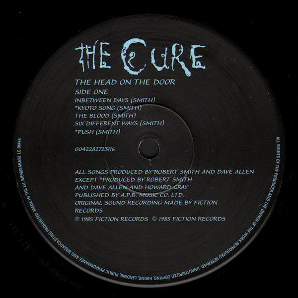 The Cure - The Head On The Door (0042282723116)