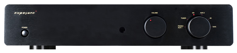 Exposure 3010s2 D Pre Amplifier black