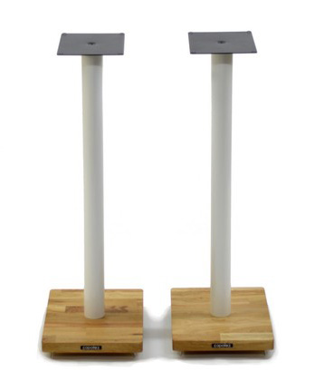 Atacama Apollo Cyclone 7 Speaker Stands white/oak