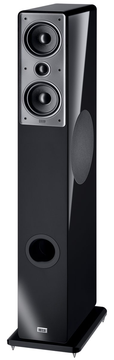 HECO Music Colors 200 high gloss black