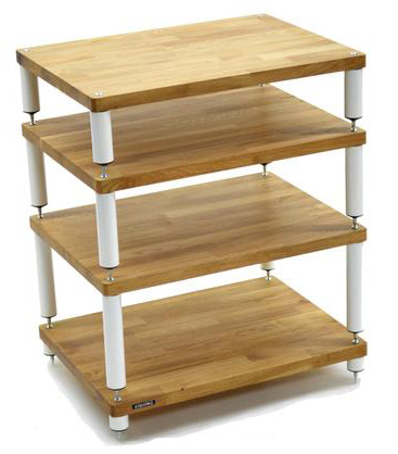 Atacama Apollo Storm 6 HiFi Shelf 135mm white/oak