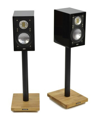 Atacama Apollo Cyclone 6 Speaker Stands silk black/oak