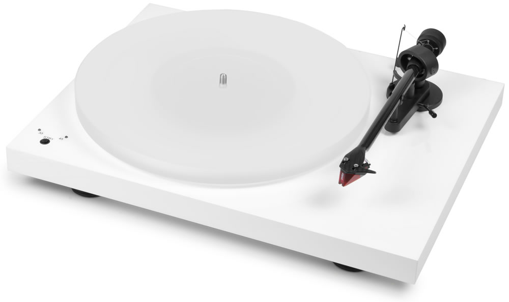 Pro-Ject Debut Carbon RecordMaster HiRes (Ortofon 2M Red) white