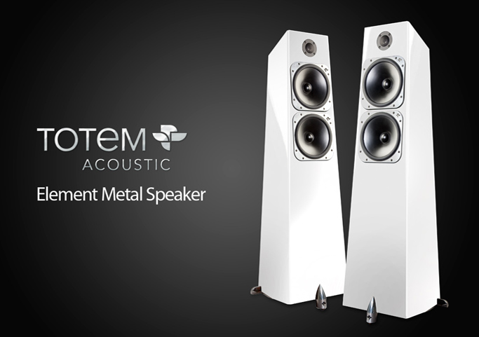 Напольные системы Totem Acoustic Element Metal. SalonAV, октябрь 2018.
