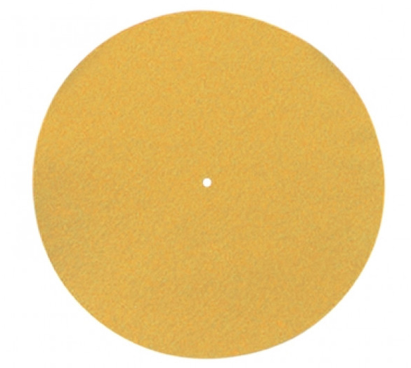 Pro-Ject Felt Mat 300mm orange