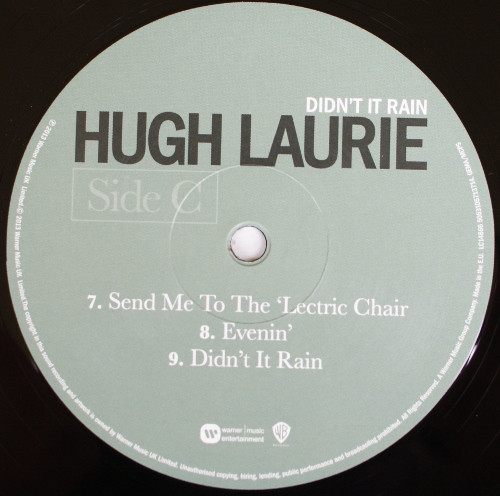 Hugh Laurie - Didn't It Rain (5053105713714)