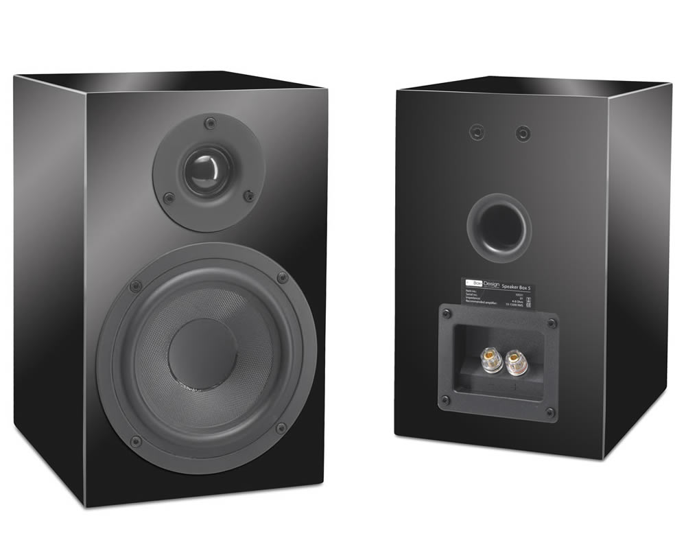 Pro-Ject Speaker Box 5 piano black