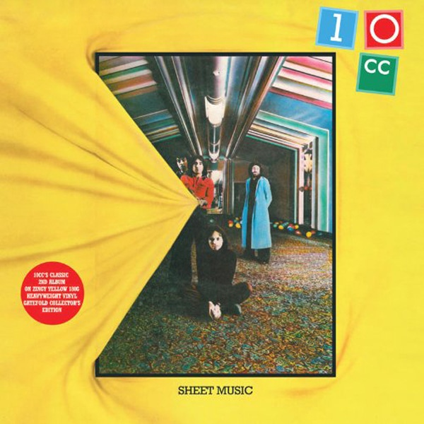 10cc - Sheet Music (BADLP007)