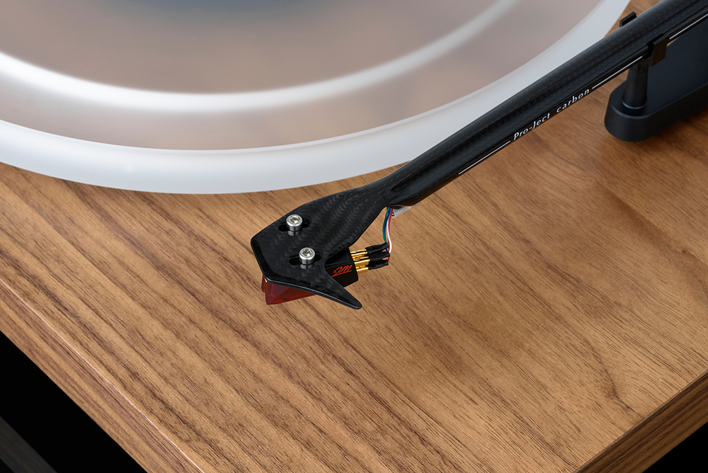 Pro-Ject Debut Carbon RecordMaster HiRes (Ortofon 2M Red) walnut