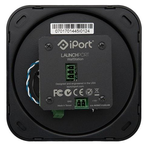 iPort LaunchPort WallStation black