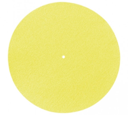 Pro-Ject Felt Mat 300mm yellow