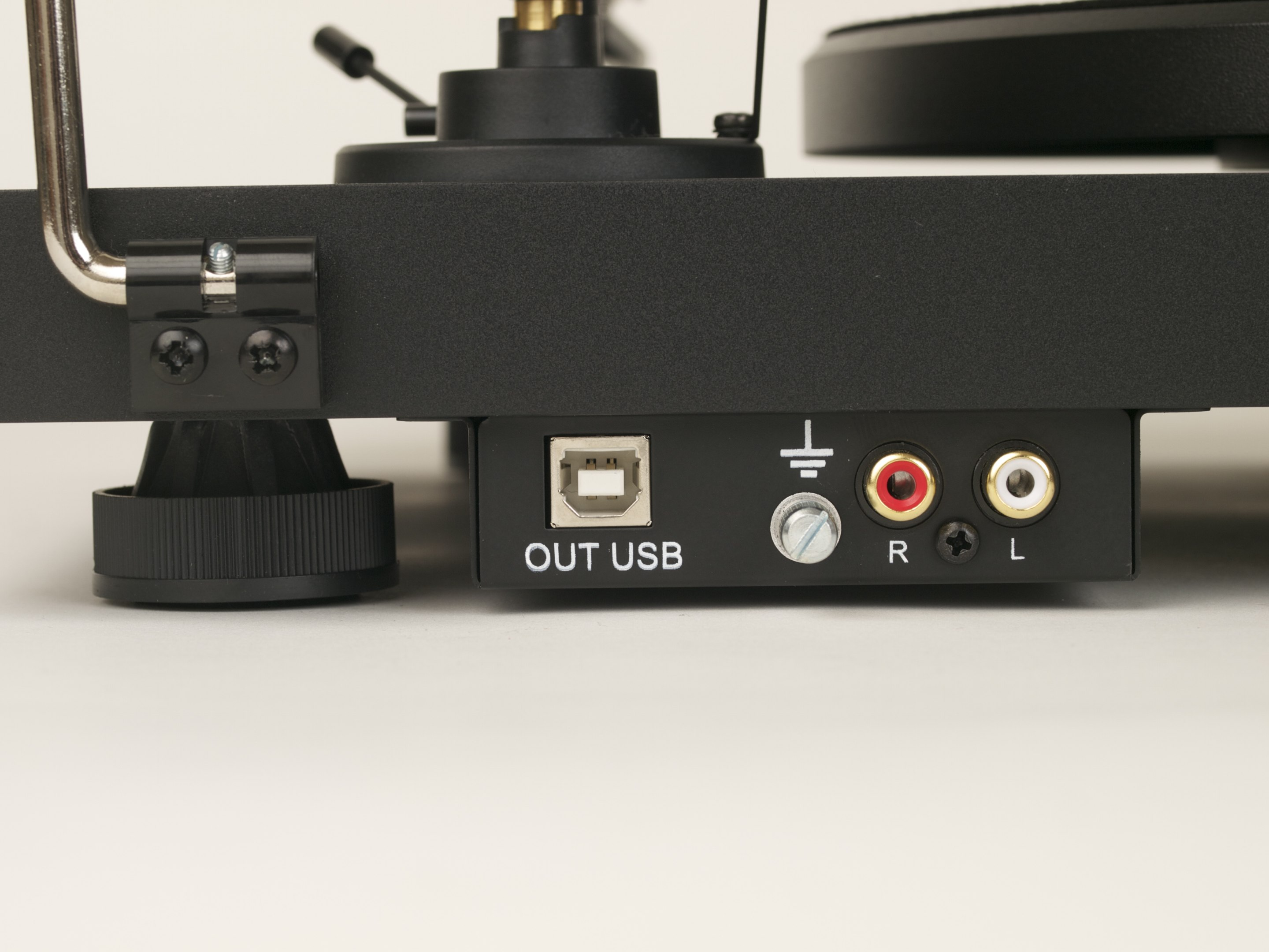 Pro-Ject Debut Carbon Phono USB (DC) (Ortofon OM10) green