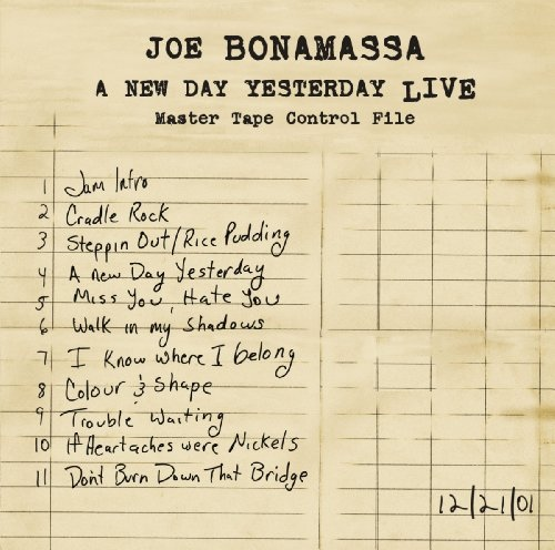 Joe Bonamassa - A New Day Yesterday Live (PRD 7154 1)