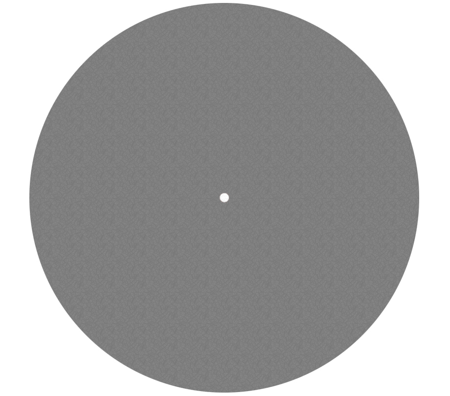 Pro-Ject Felt Mat 300mm dark-grey