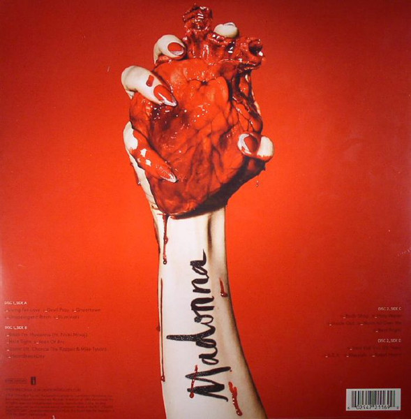 Madonna - Rebel Heart (0602547211699)