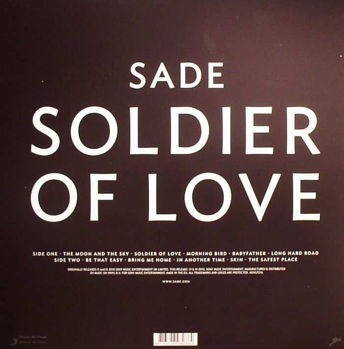 Sade - Soldier Of Love (MOVLP216)
