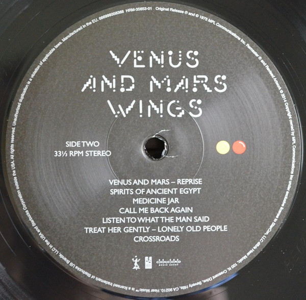 Paul McCartney & Wings - Venus And Mars (HRM-35653-01)