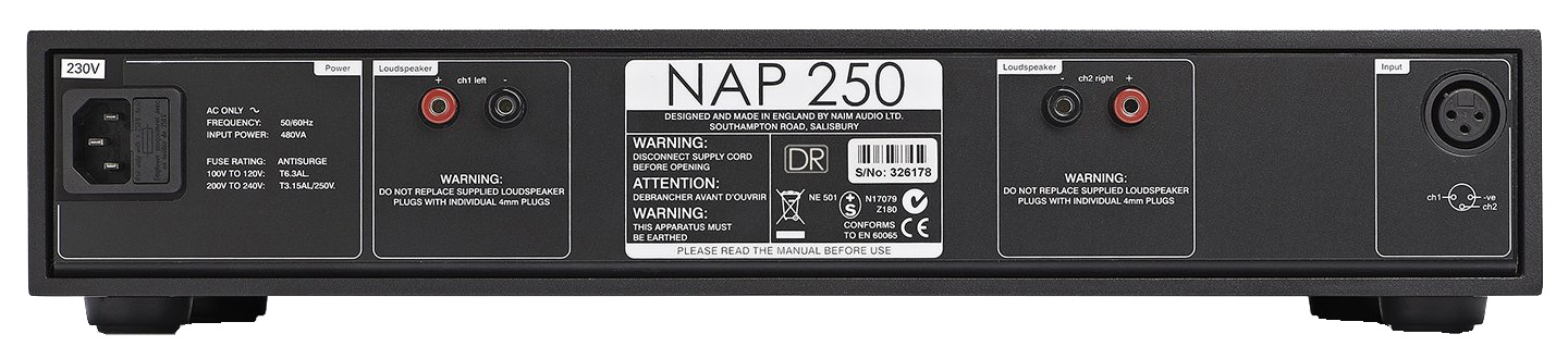 Naim Audio NAP 250 DR