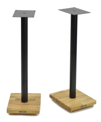 Atacama Apollo Cyclone 7 Speaker Stands silk black/oak