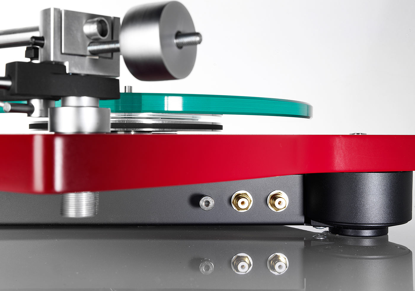 Thorens TD 309 structure red